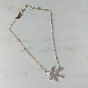 Lele Sadoughi Lily Pendant Necklace